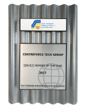 Centreforce Technology Group was awarded the industry's most prestigious supplier award, 'Service Member of the Year' again, for the 3rd time in 4 years.