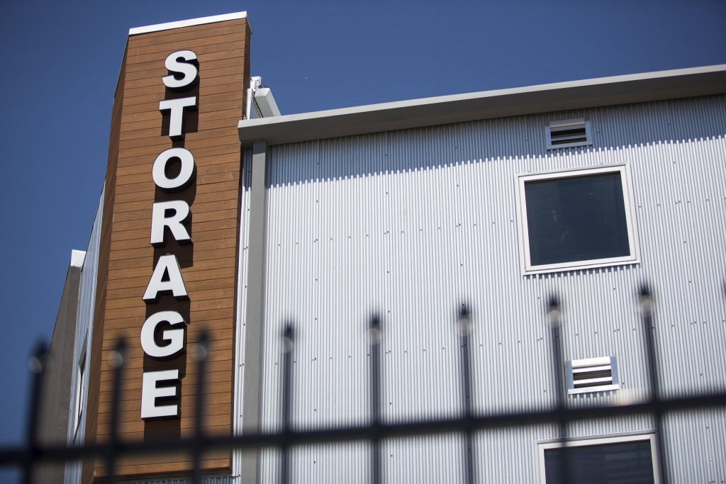 Building and storage sign